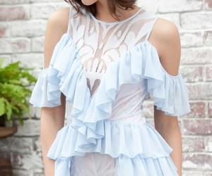 lovely, lacedress, and lase image
