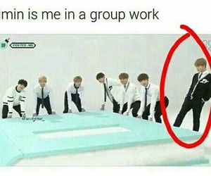 meme, bts, and jimin image