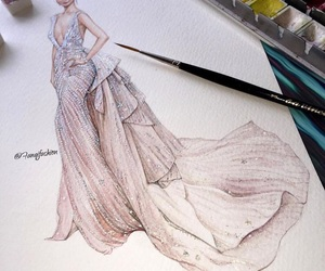 art and fashion illustration image