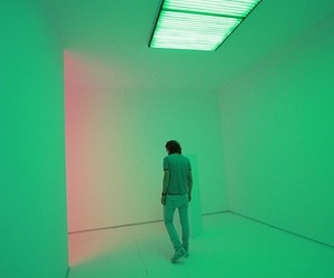 green, grunge, and neon image