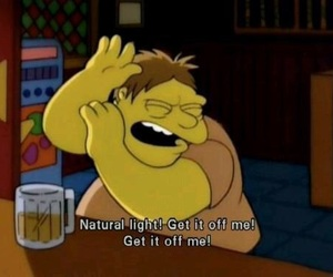 the simpsons, funny, and light image