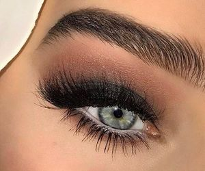 beauty, make up, and eye lash image