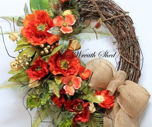 bird nest, etsy, and summer wreath image