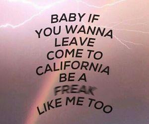 freak, lana del rey, and Lyrics image