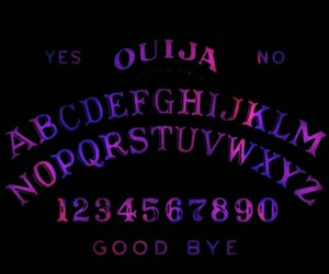 background, ouija, and ouija board image