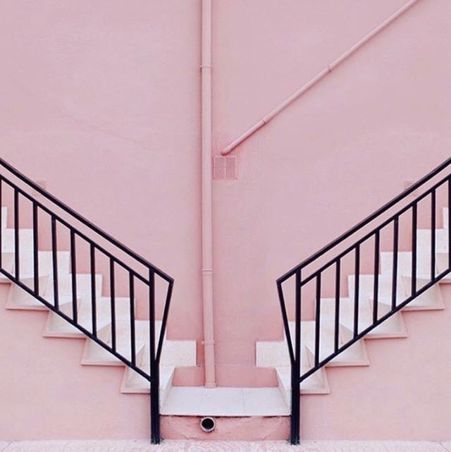 black, asthetic, and pink image