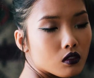 asian, eye liner, and eyeliner image
