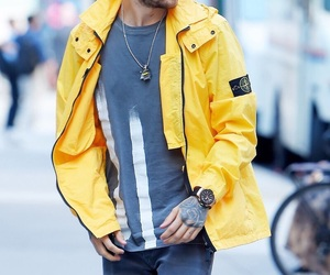 liam payne, one direction, and yellow image