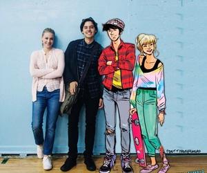 comic, riverdale, and lili reinhart image