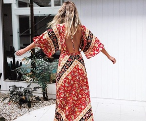 style, boho, and fashion image