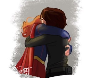 Supergirl, kara danvers, and alex danvers image