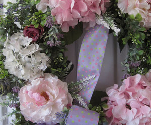 etsy, summer wreath, and home decor image