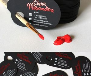 business card, design, and inspiration image
