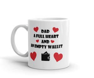 etsy, funny fathers day, and new dad coffee mug image