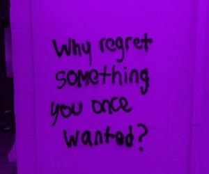 frase, purple, and arrependimento image