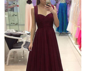 evening dress, dress, and prom dress image