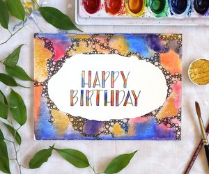 calligraphy, handwriting, and watercolor image