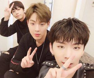 monsta x, kihyun, and hyungwon image