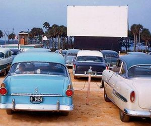 cars, movies, and vintage image