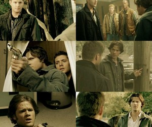 dean winchester, yellow, and season 2 image