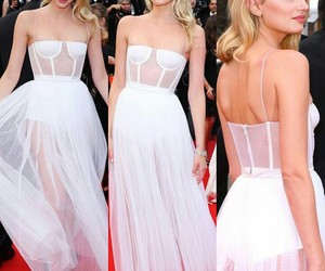 cannes, catwalk, and dress image