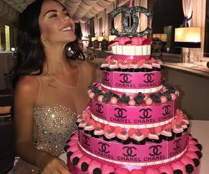 birthday, cake, and chanel image