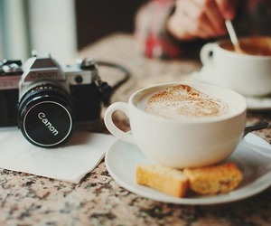 cafe, camera, and canon image
