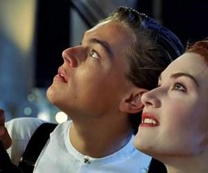 titanic, jack, and rose image