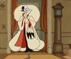 disney, cruella de vil, and cruella image