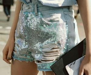 model, shorts, and summer image