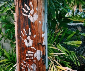 hands, summer, and tropical image