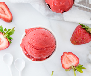 delicious, fresh, and sorbet image