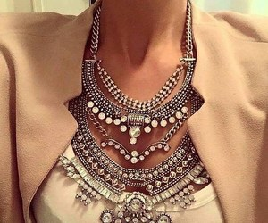 accessories, style, and blouse image