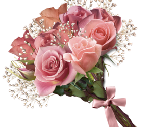 bouquet, flowers, and bouquets image