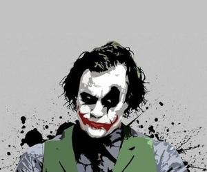 joker, batman, and DC image