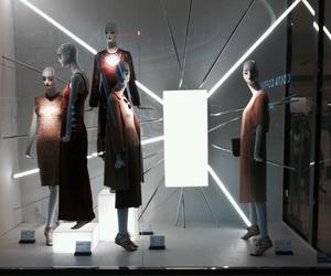 light, shop, and Zara image