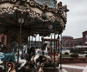 carousel, fun, and toy image