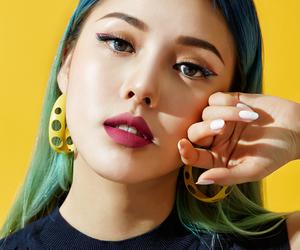 korean, makeup, and pony image
