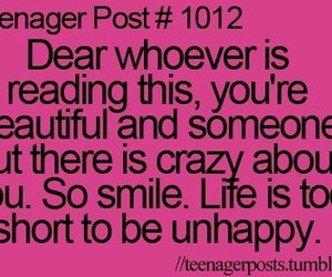 smile, beautiful, and teenager post image