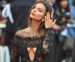 fashion, emily ratajkowski, and cannes image