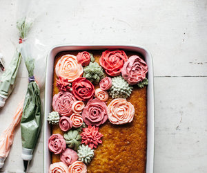 cake, buttermilk, and rosewater image