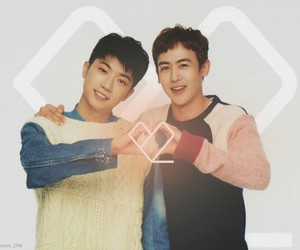 2PM, wooyoung, and nickhun image