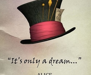 alice, Dream, and mad hatter image