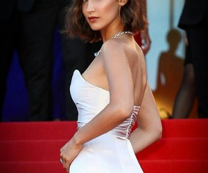 bella hadid, model, and red carpet image