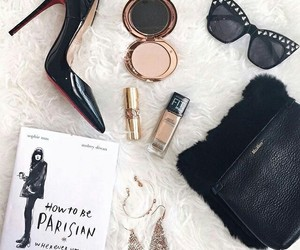 fashion, book, and shoes image