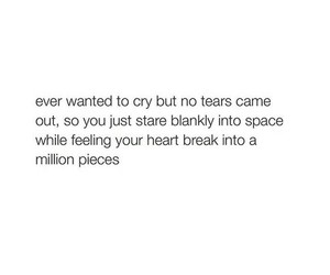 cry, tears, and depressed image