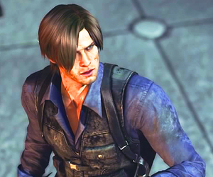 videogames, resident evil, and leon kennedy image