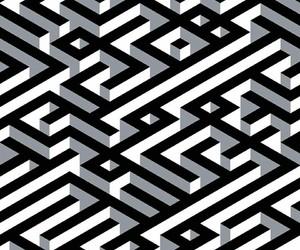 b&w, black & white, and pattern image