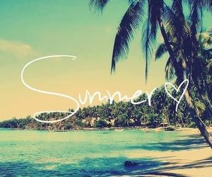 beach, summertime, and summer image