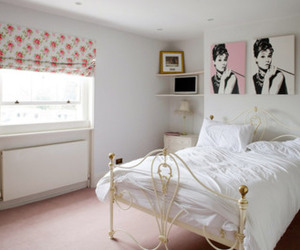 bedroom, vintage, and white image